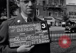 Image of modern store Berlin Germany, 1952, second 7 stock footage video 65675041177