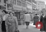 Image of modern store Berlin Germany, 1952, second 14 stock footage video 65675041177