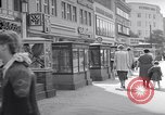 Image of modern store Berlin Germany, 1952, second 18 stock footage video 65675041177