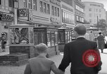 Image of modern store Berlin Germany, 1952, second 21 stock footage video 65675041177