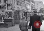 Image of modern store Berlin Germany, 1952, second 22 stock footage video 65675041177