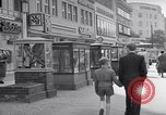 Image of modern store Berlin Germany, 1952, second 25 stock footage video 65675041177