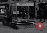 Image of modern store Berlin Germany, 1952, second 28 stock footage video 65675041177