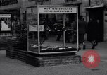 Image of modern store Berlin Germany, 1952, second 29 stock footage video 65675041177