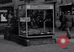 Image of modern store Berlin Germany, 1952, second 31 stock footage video 65675041177