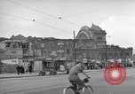 Image of bomb destroyed buildings in Berlin post war Berlin Germany, 1952, second 15 stock footage video 65675041179