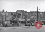 Image of bomb destroyed buildings in Berlin post war Berlin Germany, 1952, second 23 stock footage video 65675041179