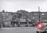 Image of bomb destroyed buildings in Berlin post war Berlin Germany, 1952, second 25 stock footage video 65675041179