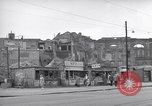 Image of bomb destroyed buildings in Berlin post war Berlin Germany, 1952, second 26 stock footage video 65675041179