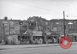 Image of bomb destroyed buildings in Berlin post war Berlin Germany, 1952, second 27 stock footage video 65675041179