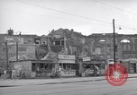 Image of bomb destroyed buildings in Berlin post war Berlin Germany, 1952, second 29 stock footage video 65675041179