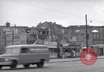 Image of bomb destroyed buildings in Berlin post war Berlin Germany, 1952, second 31 stock footage video 65675041179