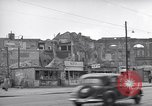 Image of bomb destroyed buildings in Berlin post war Berlin Germany, 1952, second 36 stock footage video 65675041179