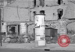 Image of bomb destroyed buildings in Berlin post war Berlin Germany, 1952, second 55 stock footage video 65675041179