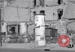 Image of bomb destroyed buildings in Berlin post war Berlin Germany, 1952, second 56 stock footage video 65675041179