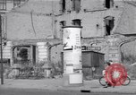 Image of bomb destroyed buildings in Berlin post war Berlin Germany, 1952, second 57 stock footage video 65675041179
