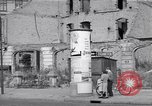 Image of bomb destroyed buildings in Berlin post war Berlin Germany, 1952, second 58 stock footage video 65675041179