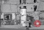 Image of bomb destroyed buildings in Berlin post war Berlin Germany, 1952, second 59 stock footage video 65675041179