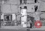 Image of bomb destroyed buildings in Berlin post war Berlin Germany, 1952, second 62 stock footage video 65675041179