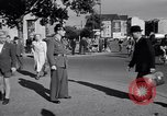 Image of German police officer directs traffic Berlin Germany, 1952, second 10 stock footage video 65675041180