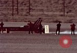 Image of rocket powered car California United States USA, 1979, second 31 stock footage video 65675041233