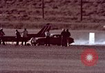 Image of rocket powered car California United States USA, 1979, second 34 stock footage video 65675041233