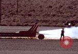 Image of rocket powered car California United States USA, 1979, second 39 stock footage video 65675041233