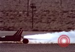 Image of rocket powered car California United States USA, 1979, second 41 stock footage video 65675041233