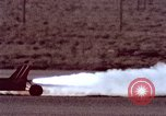 Image of rocket powered car California United States USA, 1979, second 43 stock footage video 65675041233