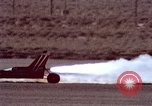 Image of rocket powered car California United States USA, 1979, second 44 stock footage video 65675041233