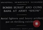 Image of 1929 United States Army exhibition show Aberdeen Maryland USA, 1929, second 1 stock footage video 65675041240