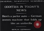 Image of Parlor Auto Berlin Germany, 1929, second 2 stock footage video 65675041243