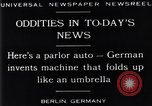 Image of Parlor Auto Berlin Germany, 1929, second 6 stock footage video 65675041243