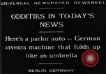 Image of Parlor Auto Berlin Germany, 1929, second 9 stock footage video 65675041243