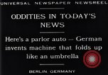 Image of Parlor Auto Berlin Germany, 1929, second 10 stock footage video 65675041243