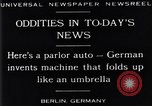 Image of Parlor Auto Berlin Germany, 1929, second 14 stock footage video 65675041243