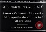 Image of Ramona Carpenter Los Angeles California USA, 1929, second 5 stock footage video 65675041244