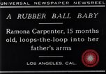 Image of Ramona Carpenter Los Angeles California USA, 1929, second 7 stock footage video 65675041244