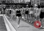 Image of Bathing beauty contest Coney Island New York USA, 1933, second 3 stock footage video 65675041259