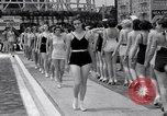 Image of Bathing beauty contest Coney Island New York USA, 1933, second 4 stock footage video 65675041259