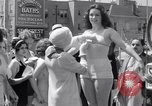 Image of Bathing beauty contest Coney Island New York USA, 1933, second 41 stock footage video 65675041259