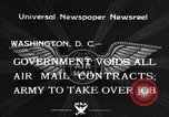 Image of Air mail Washington DC USA, 1934, second 1 stock footage video 65675041260