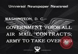 Image of Air mail Washington DC USA, 1934, second 7 stock footage video 65675041260