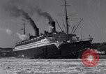 Image of Ocean liner Bremen New York City USA, 1934, second 10 stock footage video 65675041262