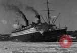 Image of Ocean liner Bremen New York City USA, 1934, second 11 stock footage video 65675041262