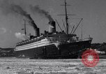 Image of Ocean liner Bremen New York City USA, 1934, second 12 stock footage video 65675041262