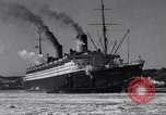 Image of Ocean liner Bremen New York City USA, 1934, second 13 stock footage video 65675041262