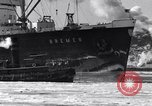 Image of Ocean liner Bremen New York City USA, 1934, second 14 stock footage video 65675041262