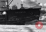 Image of Ocean liner Bremen New York City USA, 1934, second 15 stock footage video 65675041262