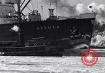 Image of Ocean liner Bremen New York City USA, 1934, second 16 stock footage video 65675041262